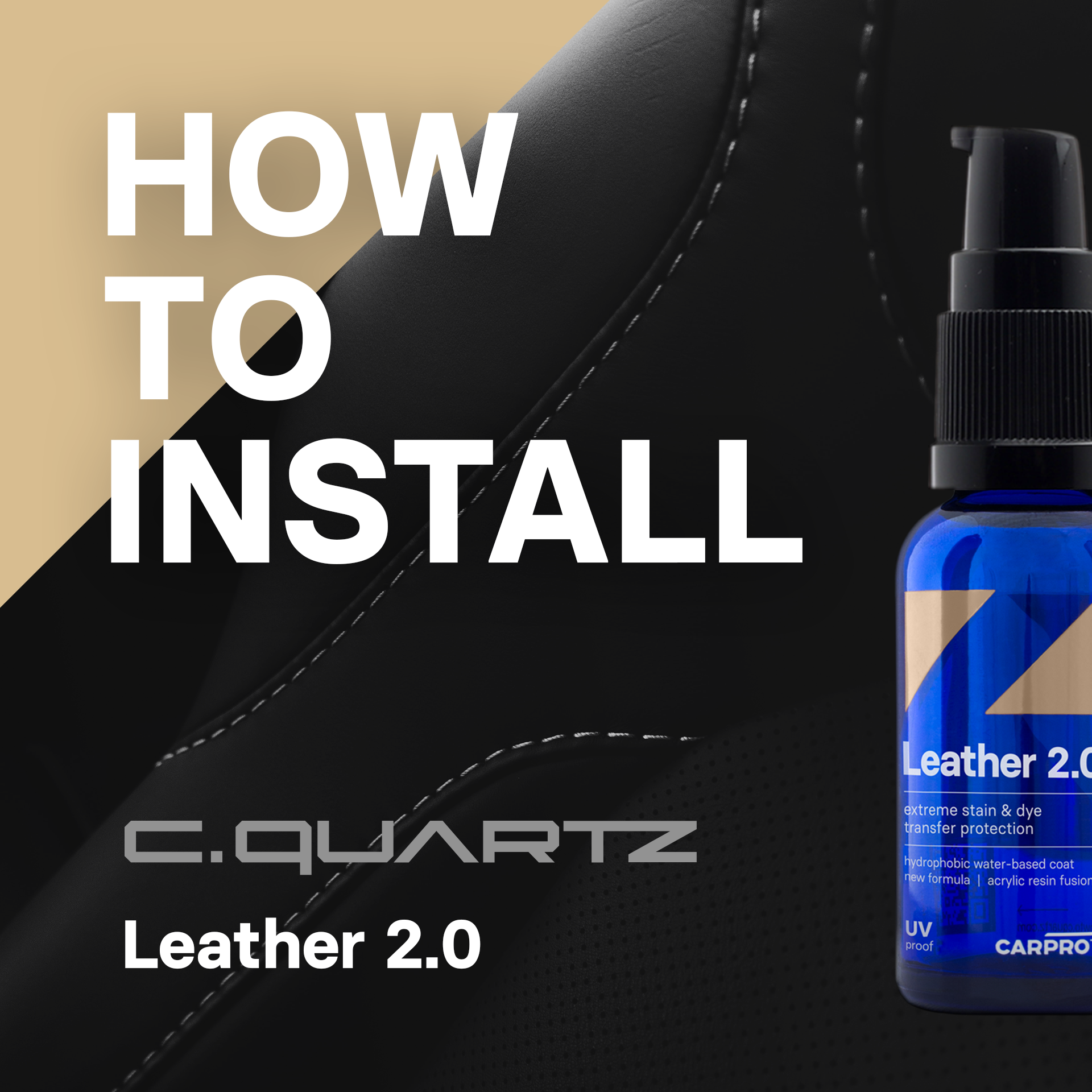 CQ Leather 2.0 Application Guide